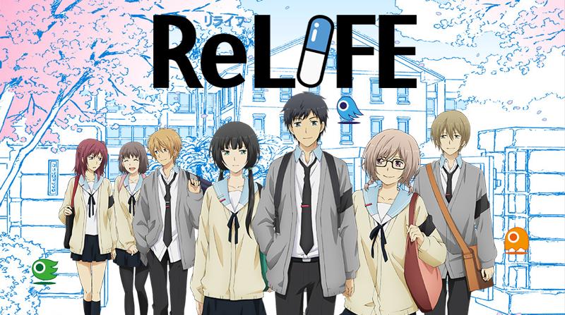 Volume final da manga ReLIFE inclui novo capítulo de epílogo